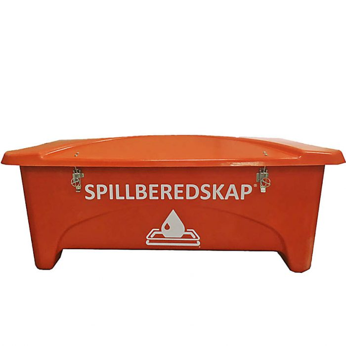 Spillberedskap spillbox orange