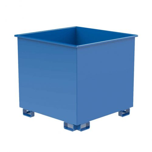 Avfallscontainer Skrotbinge 1300 L, 1200 x 1200 mm
