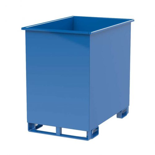 Avfallscontainer Skrotbinge 840 L, 1200 x 800 mm